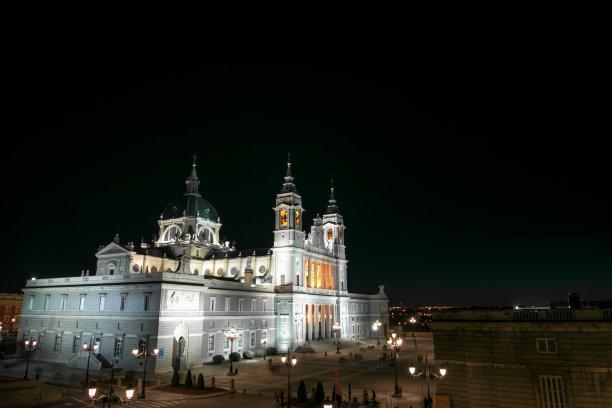 大教堂马德里西班牙