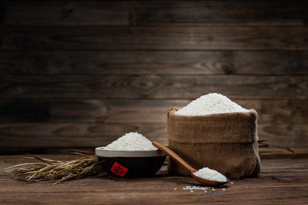 稻谷物图片
