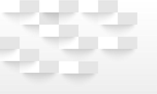 白色抽象式样