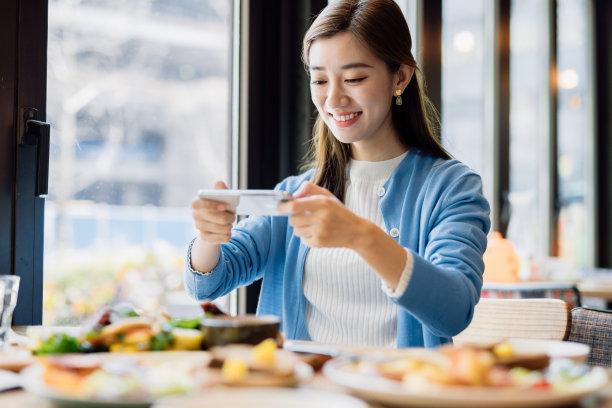 女人清新东亚文化