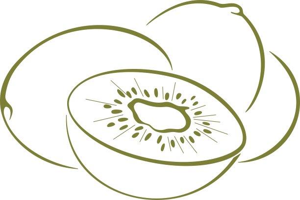 猕猴桃绿色精神振作