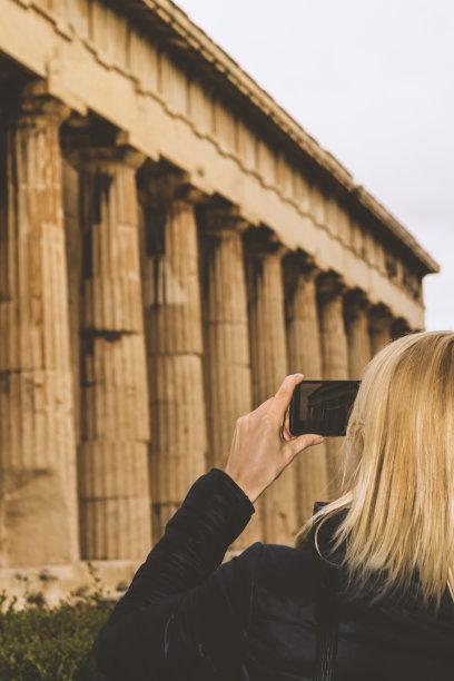 希腊寺庙图片