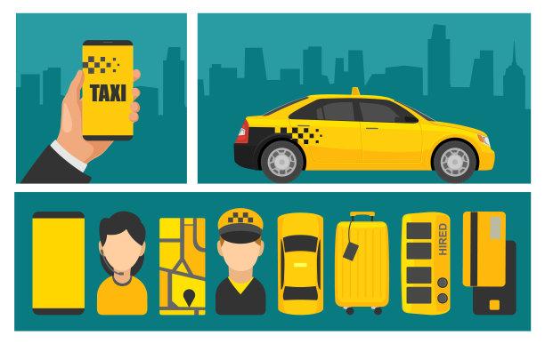 出租车,显示器,电话机