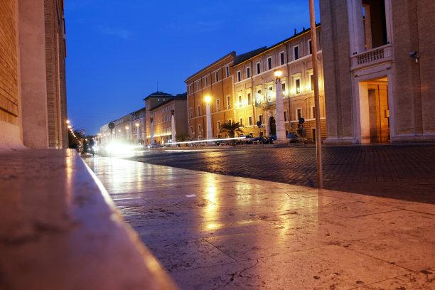都市风景街道罗马