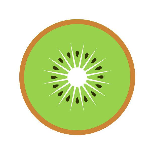 猕猴桃圆形绿色