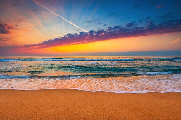 云景,黎明,海洋