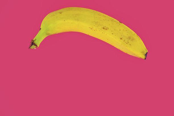极简构图香蕉时尚