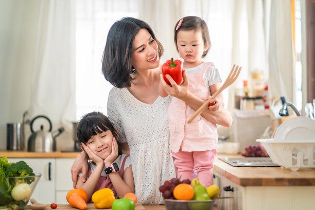厨房幸福家庭生活