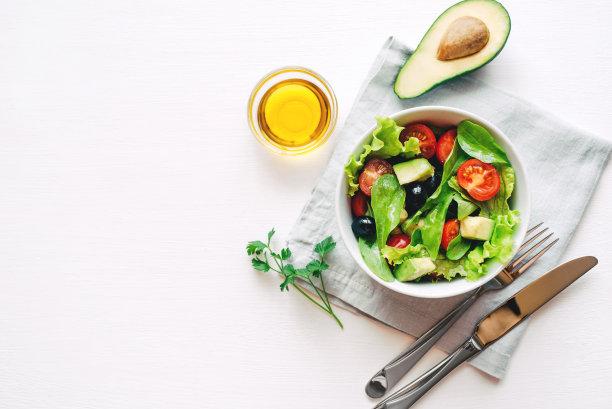 橄榄沙拉图片