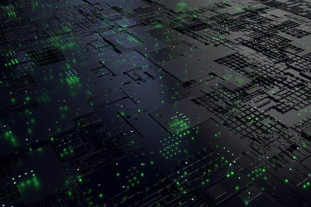 中央处理器科技图片