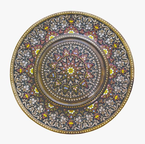 阿拉伯风格木制装饰品
