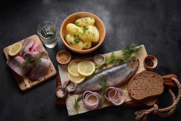 鱼类创意摆盘
