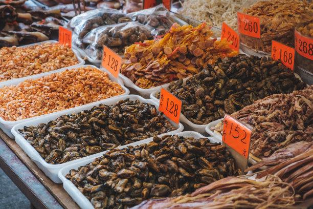 贝壳海产市场