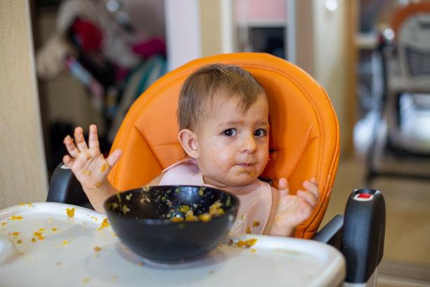 食品儿童女孩