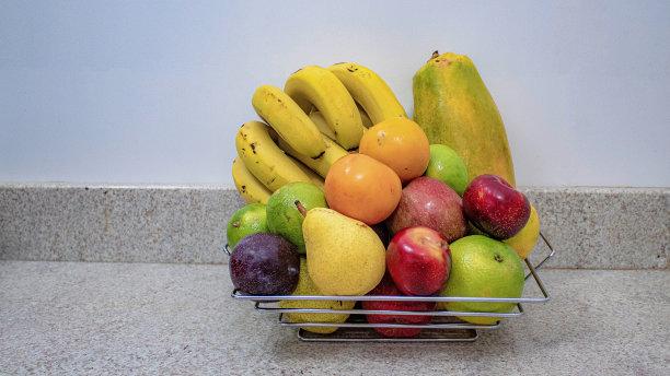 清新篮子热带水果
