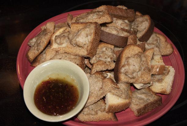 吐司面包脆泰国食品
