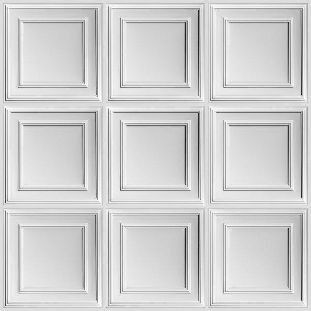 塑胶瓷砖白色
