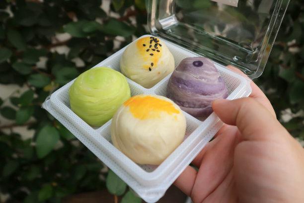 月饼春卷泰国食品