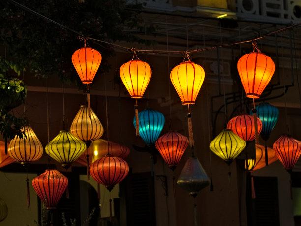 夜晚丝绸传统