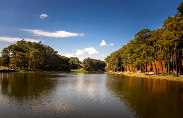 湖,自然,风景