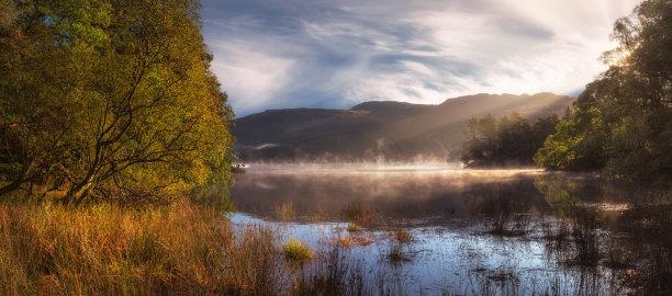 德文特湖,坎布里亚,景观设计
