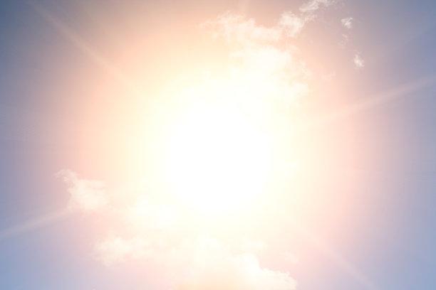 明亮,云景,天空