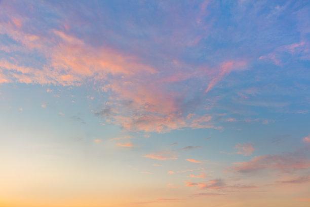 天空,黎明,自然