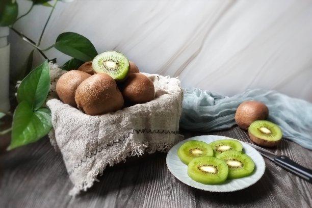 绿心猕猴桃也很好吃哦