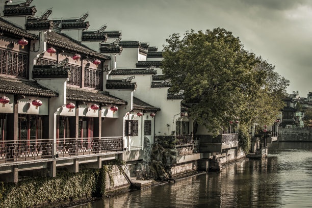 秦淮风光水乡著名景点