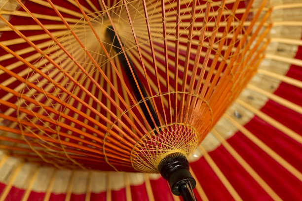 伞,红色,准确