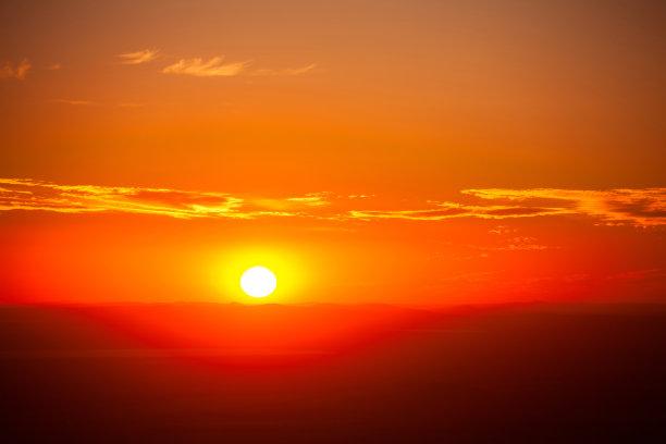 云,背景,日光