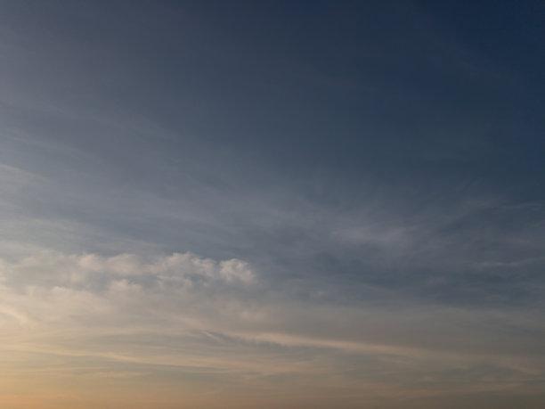 戏剧性的天空,天空,日落