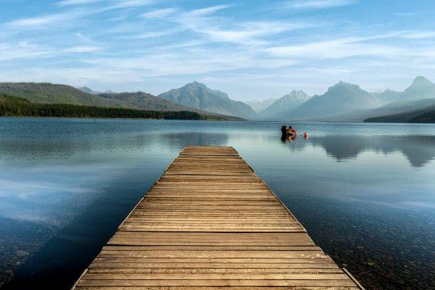 麦克唐纳湖,美国,蒙大拿州