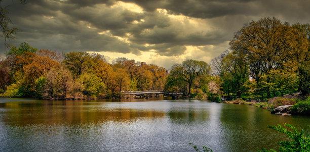中央公园,纽约,自然
