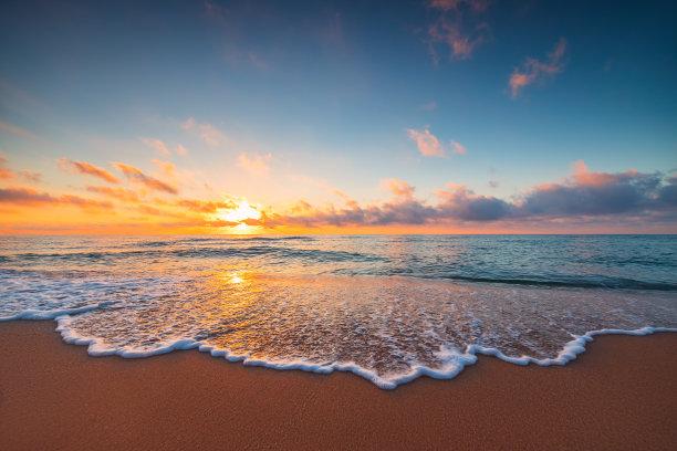 海洋,热带气候,海滩