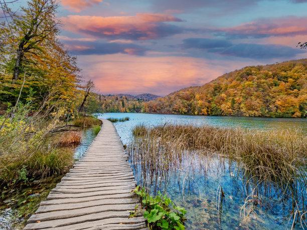 风景,自然,克罗地亚